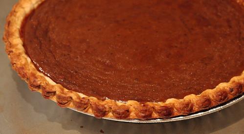 my mother's pumpkin pie