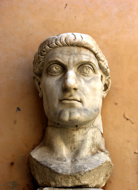 Constantine's big giant head