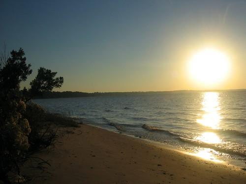 travel beach sunrise flora flickr