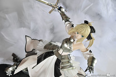 Saber Lily ~Distant Avalon~ | by nekoguchi