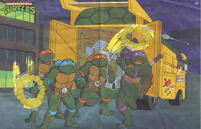 Playmates Toys TMNT Poster #3 (1991)