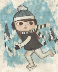 The Chase | by Sandra Jones Illustration