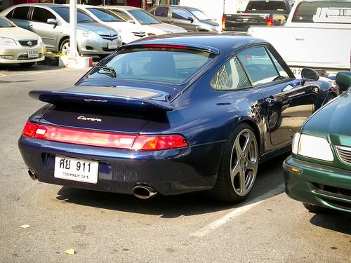 Porsche 911 Carrera in Bangkok   by Ian Fuller