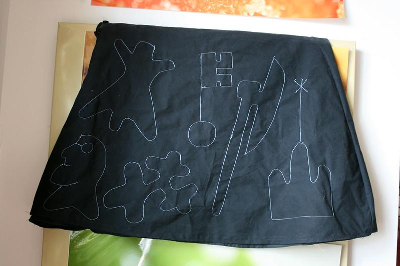 Watermark skirt (back)