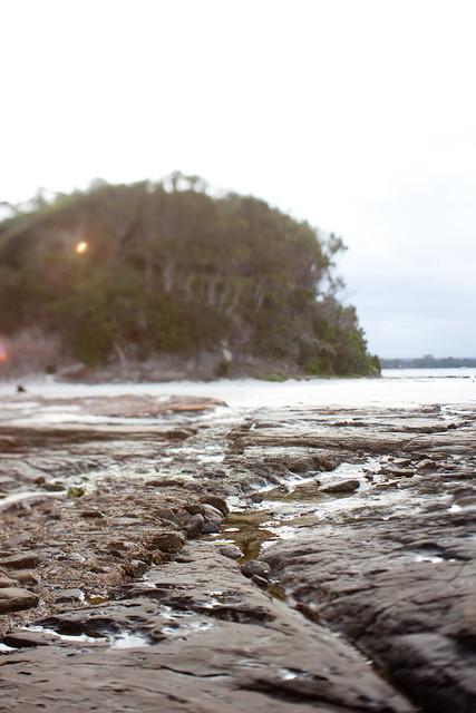 Jervis Bay: Lens flare