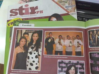 Spotted: me at stir.ph with Alex Gonzaga Http://flaircandy.com - From Joyeye Mobile | by Flair Candy