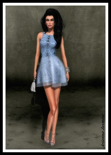Ocean Dress by LUXE Paris_001 | by ariannajasminesl