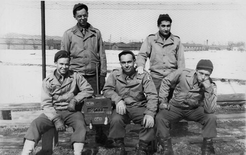Radio Unit of Headquarters Battery of the 252nd FA Bn.