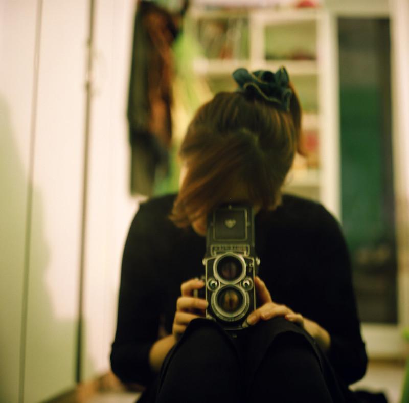 I love my hair ornament. ♪