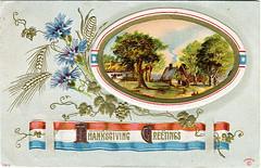 Vintage Thanksgiving Greetings   by karen horton
