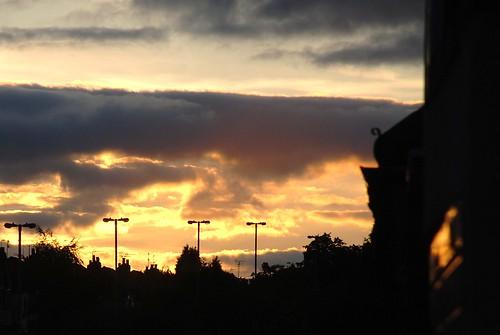 DSC_0774 :Sunset in Quinton Road Birmingham UK.