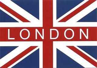 Postcard Trade- London Flag  Tagged. | by koiart71