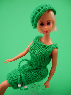 vintage hand knit Barbie doll clothes 002 | by dollyhaul