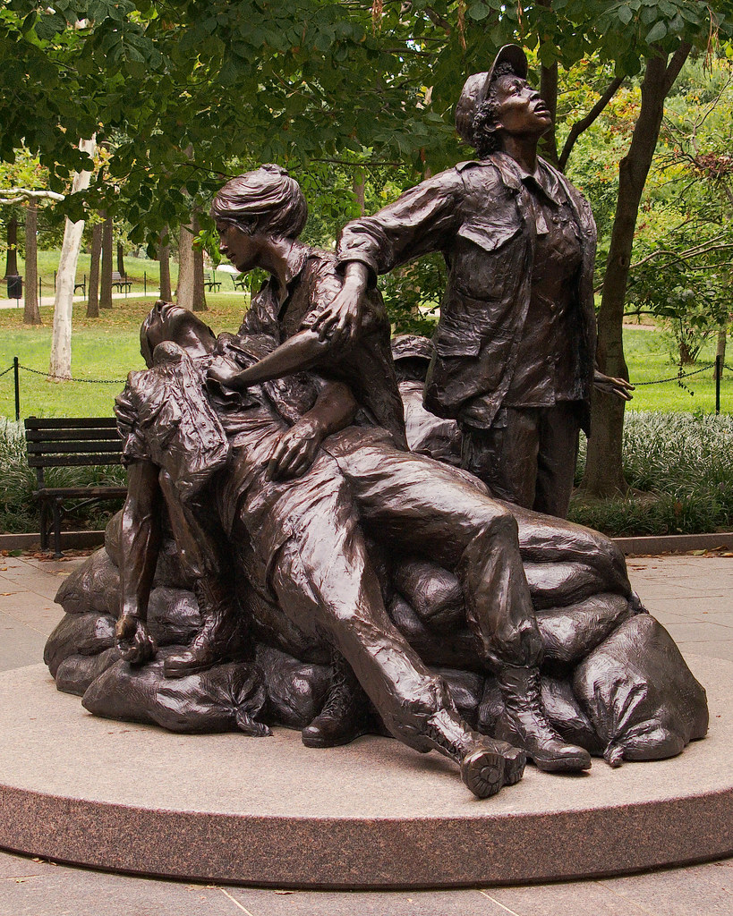 7282 Vietnam Women's Memorial, Washington, DC by John Prichard