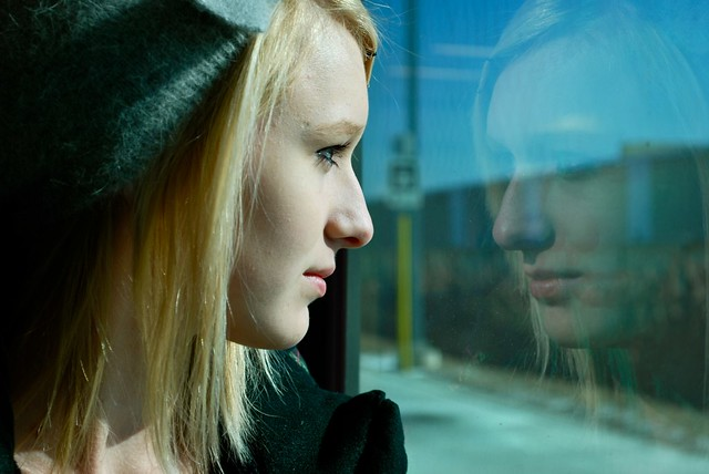 Young Narcissist | on the go train to T O  to do an assignme… | Flickr