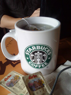 Chamomile Tea at Starbucks http://bit.ly/bRSkeH | by Flair Candy