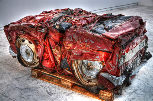 Compressed Car   by marcovdz