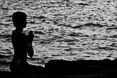 Prayer by the Sea | by Abhisek Sarda