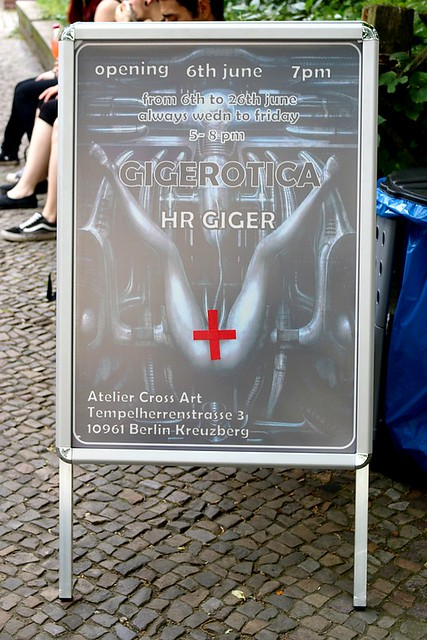 Vernissage GIGEROTICA by H.R. Giger