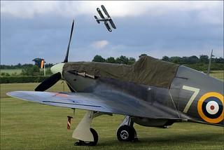 Hawker Sea Hurricane Mk1B - Shuttleworth Evening Airshow, Saturday 20th June 2015   by CDay86