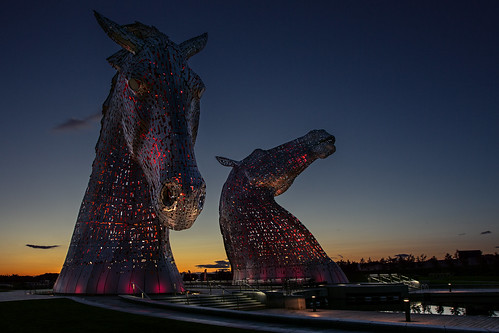 longexposure sunset horse canon landscape scotland sigma nd falkirk kelpies grantmorris 5d3 grantmorrisphotography