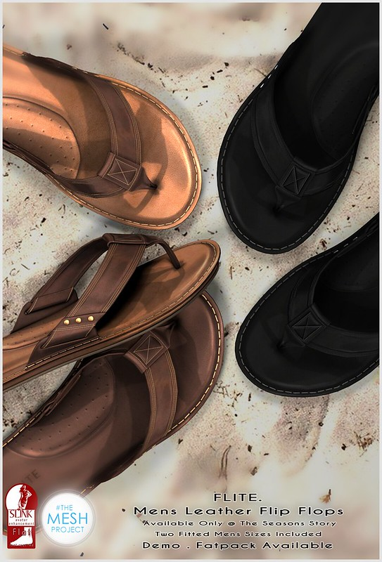 Flite. Mens Leather Sandals @ TSS
