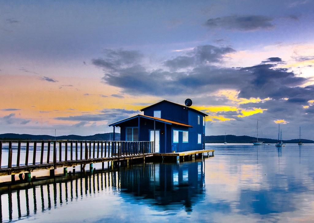 Boqueron Bay, Cabo Rojo, Puerto Rico.