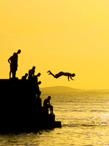 sunset canon bahia salvador portodabarra thejump flickrbronzetrophygroup