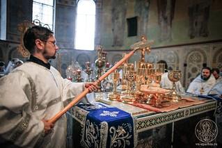Литургия в Софийском соборе 580
