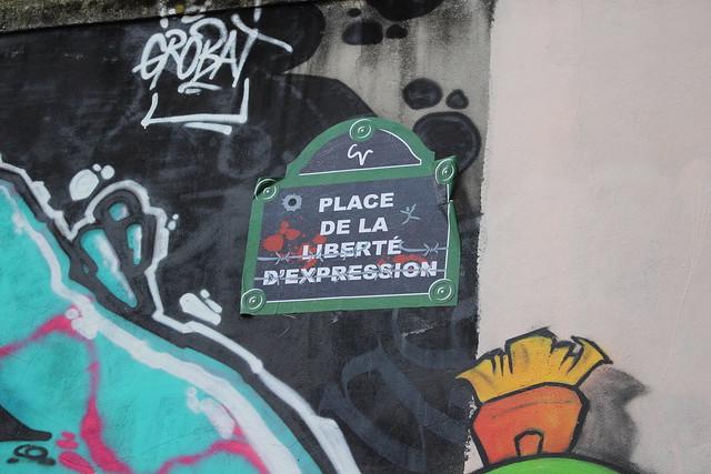 Place de la liberté d'expression