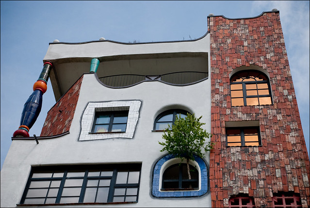 Luther Melanchton Gymnasium in Wittenberg by Hundertwasser 13