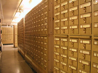 The card catalog is no longer the necessary first stop in a visit to the library | by dfulmer