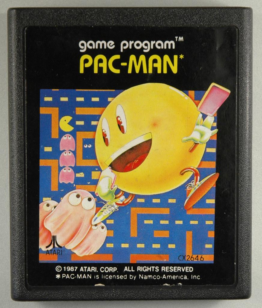 Atari 2600 - Atari - Pac-Man