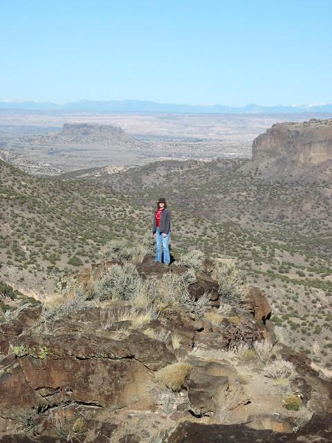 Amy near Los Alamos