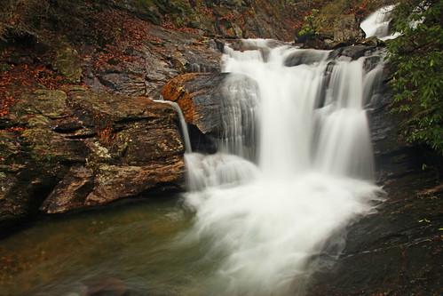 georgia waterfall chattahoocheenationalforest dukescreekfalls