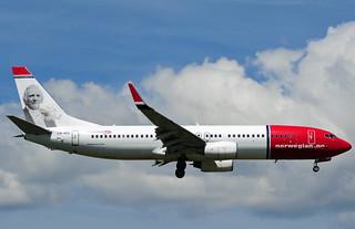 LN-NOC B737-81Q Norwegian Air Shuttle   by SJByles