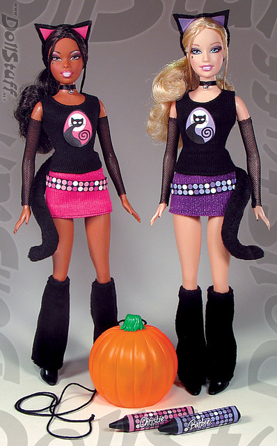 Let's Make a Jack-o-Lantern Halloween Barbie® and Christie… | Flickr