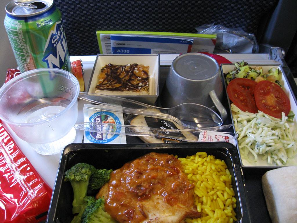 Airline Food (Northwest Airlines) Amsterdam-Mumbai 2 | Flickr