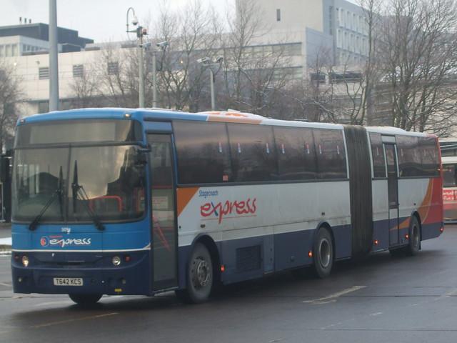 Stagecoach Western Volvo B10MA 50194 Glasgow 24/12/09