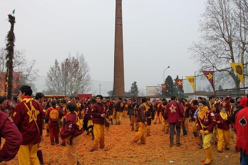 Storico Carnevale di Ivrea 2010