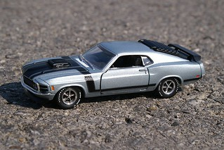M2 Machines Auto-Lift 1970 Ford Mustang Boss 302 | by HaarFager (Pro)