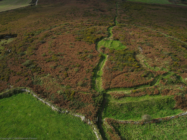 Caer Brân (Iron Age Hillfort),near Sancreed, Cornwall