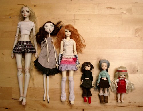 doll family comparison | by anninaislove