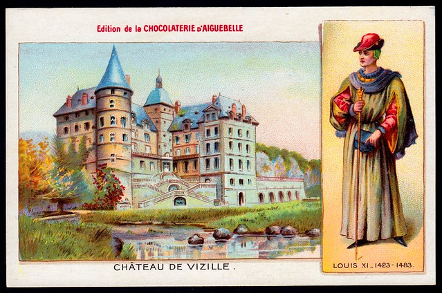 French Tradecard - Chateau De Vizille