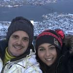 Viajefilos en Tromso, Monte Floya 003