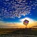 Groovik's Cube, Sunrise, Burning Man 2009