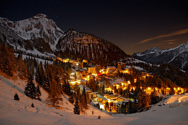 Foppolo by Night