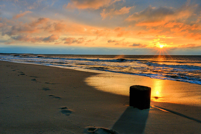 HDR Sunrise at Cape May, NJ