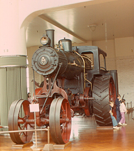Henry Ford Museum - Giant Steam Tractor