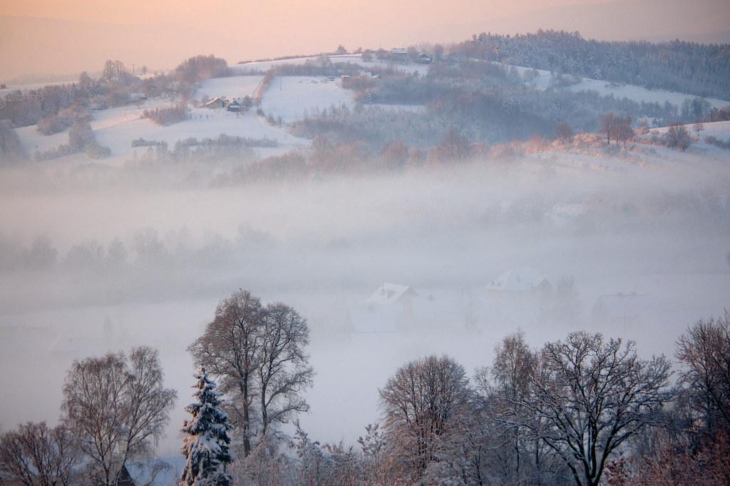 Zimowa mgła / Winter fog